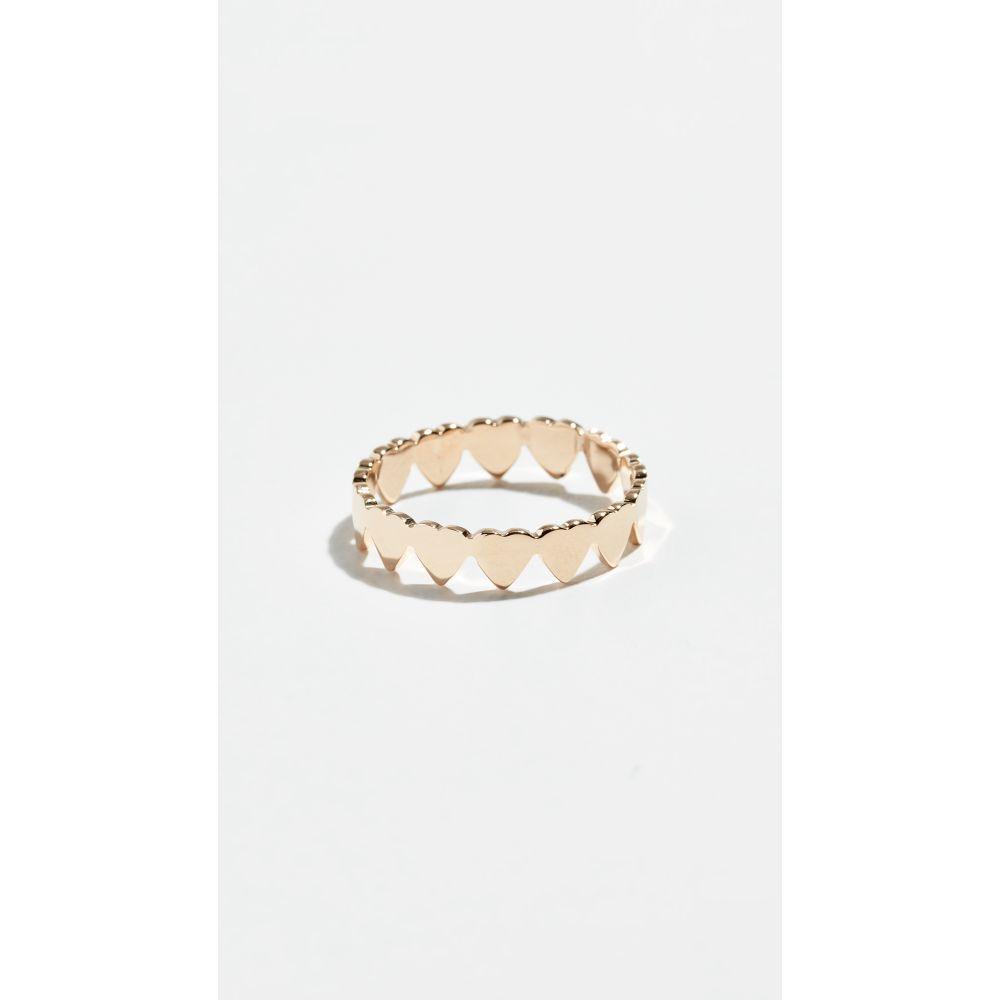 ジェニファーズーナー Jennifer Zeuner Jewelry レディース ジュエリー・アクセサリー 指輪・リング【Mia Mini Eternity Ring】Yellow Gold