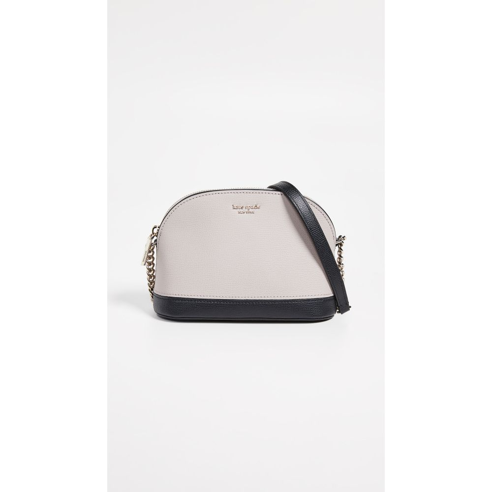 ケイト スペード Kate Spade New York レディース バッグ ショルダーバッグ【Sylvia Small Dome Crossbody Bag】Warm Taupe/Black