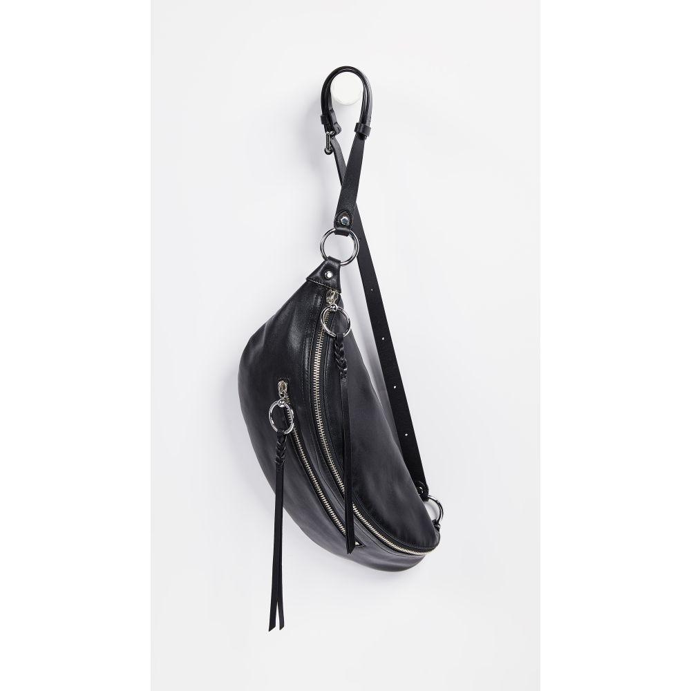 レベッカ ミンコフ Rebecca Minkoff レディース バッグ ボディバッグ・ウエストポーチ【Bree Large Zip Sling Bag】Black