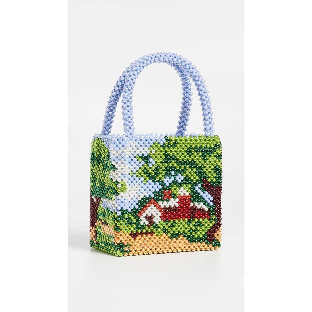 シュリンプス Shrimps レディース バッグ トートバッグ【Prairie Beaded Bag】Multi