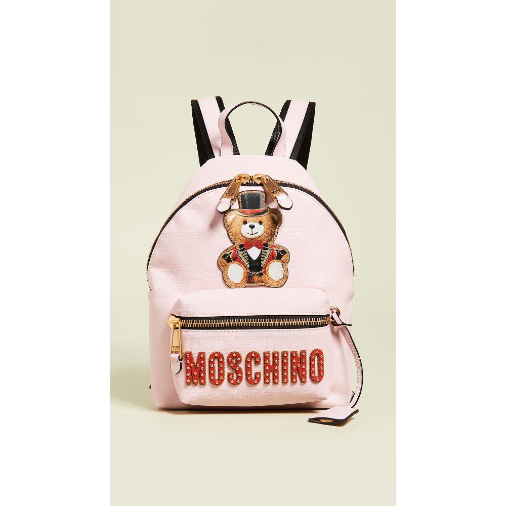 モスキーノ Moschino レディース バッグ バックパック・リュック【Teddy Circus Backpack】Fantasy Print Pink