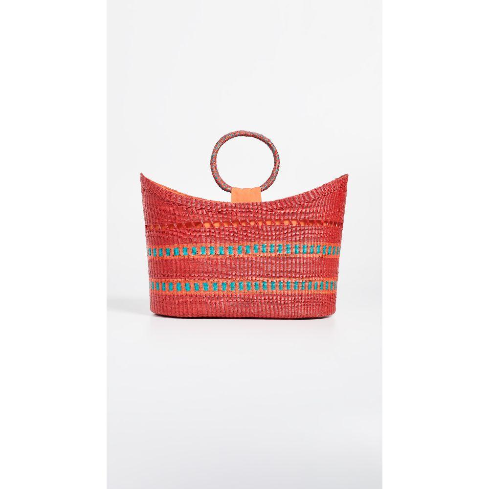 センシ スタジオ Handle】Red Sensi Studio レディース バッグ ハンドバッグ バッグ【Oval Bag Bag with Round Handle】Red, vivre(ビーブル)ミセスのお洋服:e64f8335 --- sunward.msk.ru