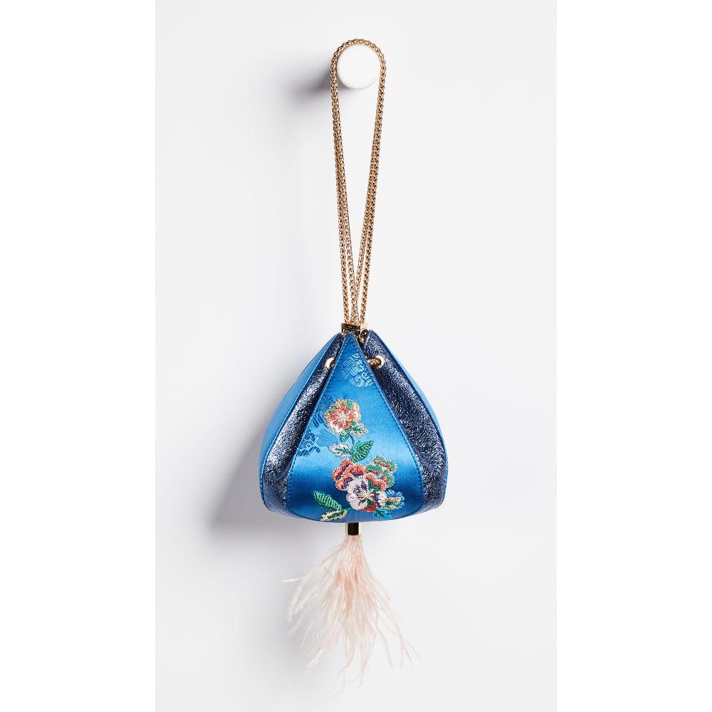 ザ ヴォロン THE VOLON レディース バッグ【Cindy Flower Bag】Blue