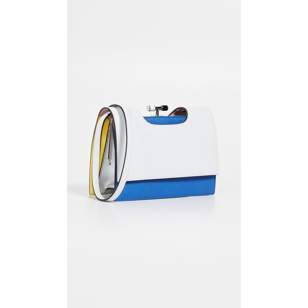 ザ ヴォロン THE VOLON レディース バッグ【Chateau Bag】White & Blue