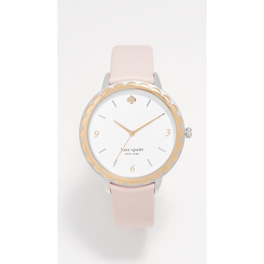 ケイト スペード Kate Spade New York レディース 腕時計【Scallop Watch, 38mm】Blush