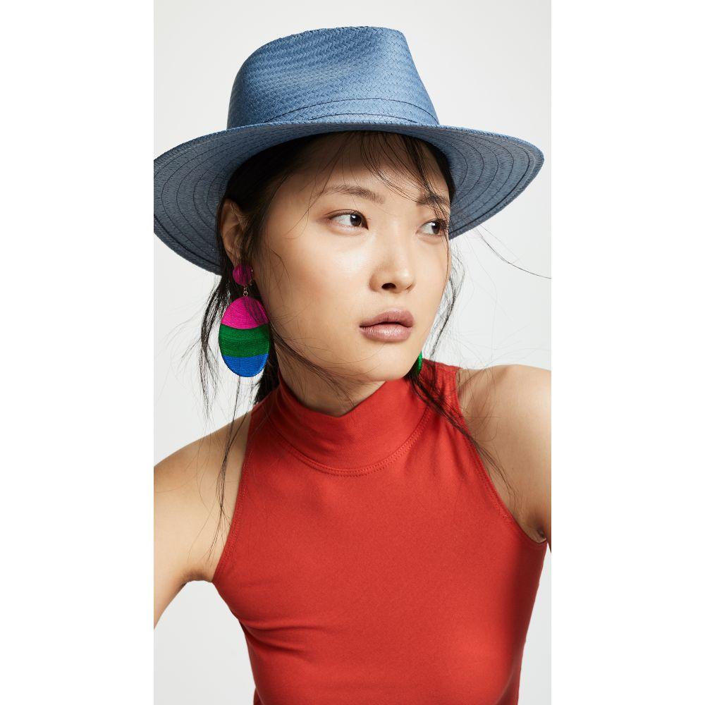 ラグ&ボーン Rag & Bone レディース 帽子 ハット【Packable Fedora】Blue
