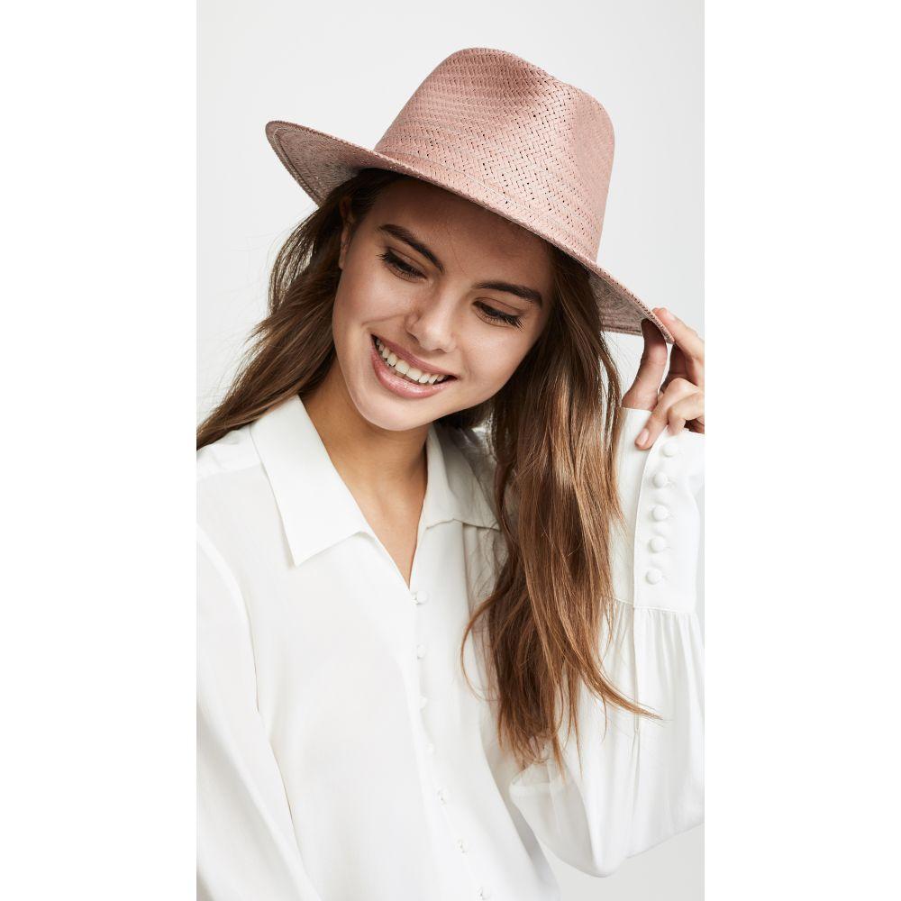 ラグ&ボーン Rag & Bone レディース 帽子 ハット【Packable Fedora】Pink