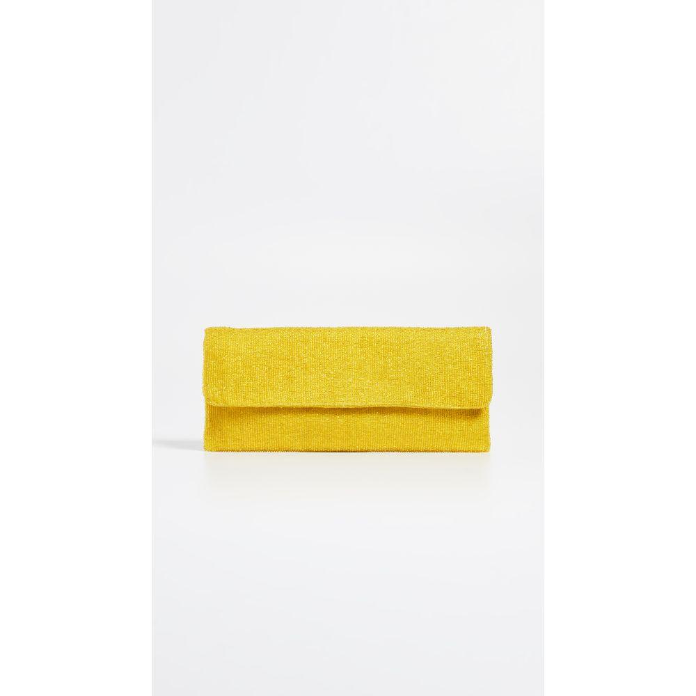サンティ Santi レディース バッグ クラッチバッグ【Beaded Clutch】Yellow