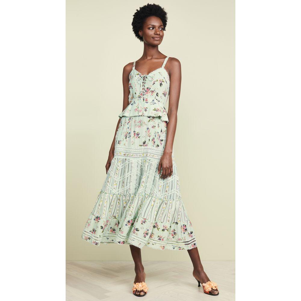 ヘマント&ナンディータ Hemant and Nandita レディース ワンピース・ドレス ワンピース【Long Dress】Sage Green