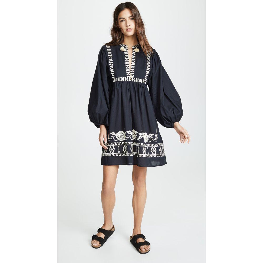 フィグ Figue レディース ワンピース・ドレス ワンピース【Nora Mini Dress】Black/White