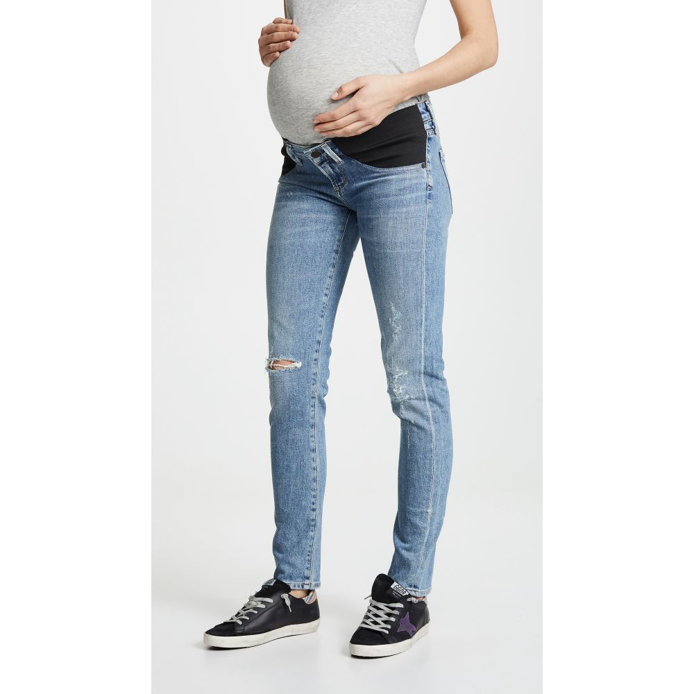 シチズン オブ ヒューマニティ Citizens of Humanity レディース ボトムス・パンツ ジーンズ・デニム【Maternity Racer Jeans】Distressed Encore