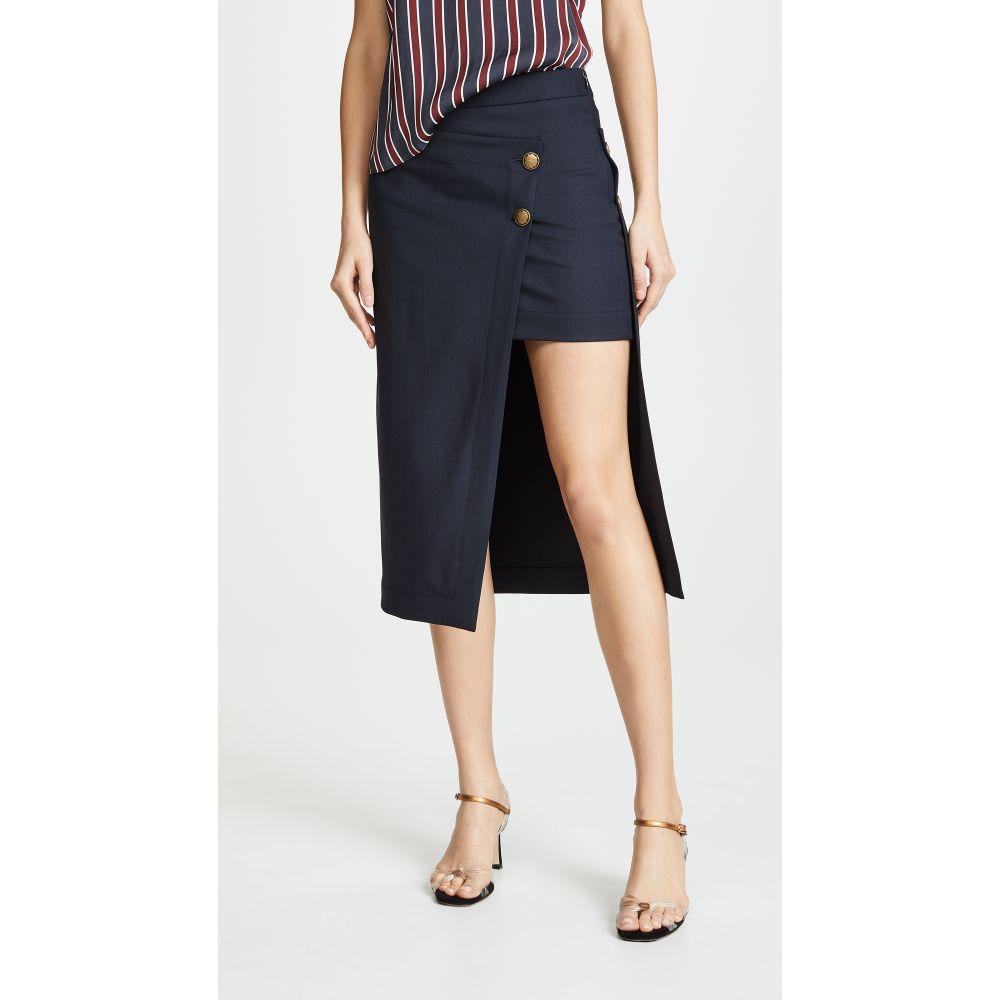 モンス Monse レディース スカート ひざ丈スカート【Pencil Skirt】Navy