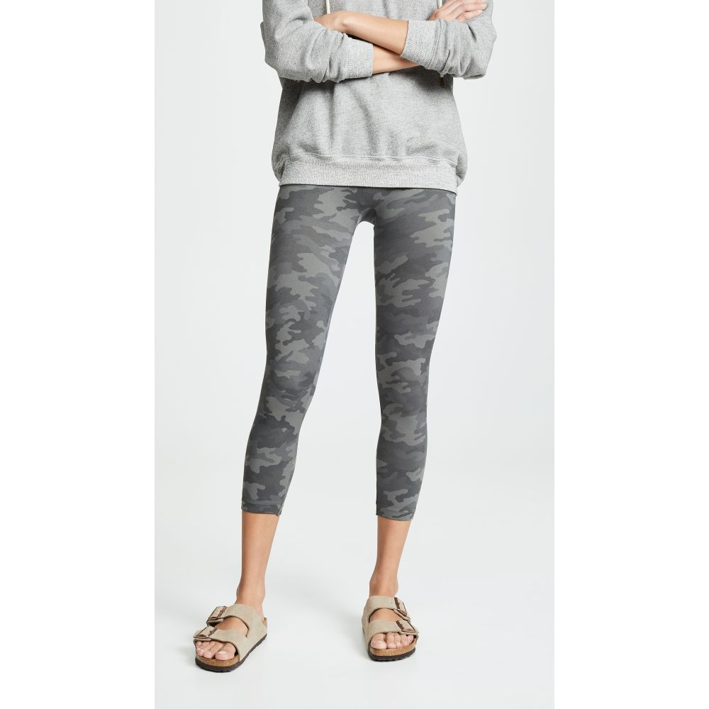 スパンクス SPANX レディース インナー・下着 SPANX スパッツ・レギンス レディース【Cropped Look Look At Me Now Seamless Leggings】Sage Camo, Chargespeed official store:5d54b788 --- stilus-szenvedelye.hu