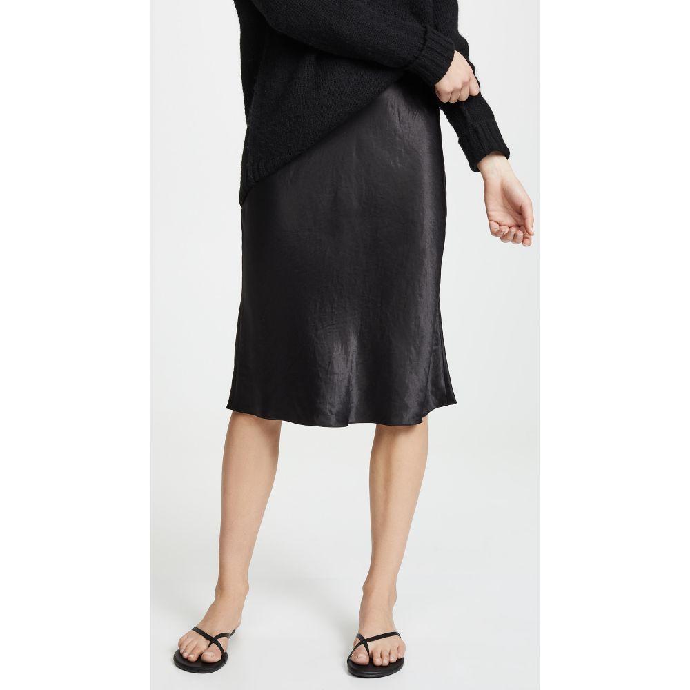 ヴィンス Vince レディース スカート ひざ丈スカート【Slip Skirt】Black