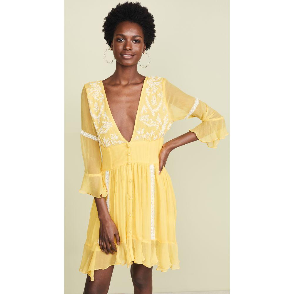 ロココ ROCOCO Dress】Yellow SAND レディース ロココ 水着・ビーチウェア ビーチウェア【Short ROCOCO Dress】Yellow, ミニチュアのすぃーとあっぷるぱい:50cca13a --- sayselfiee.com