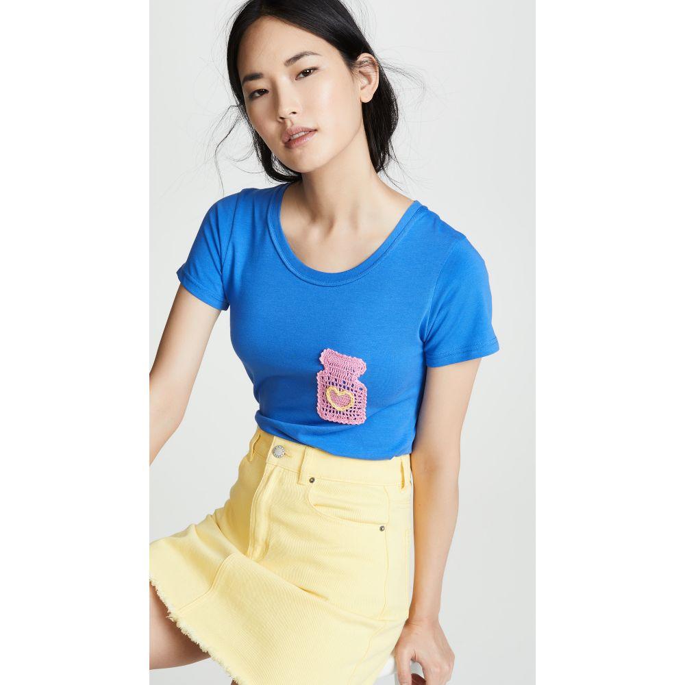ミカエラ バーガー Michaela Buerger レディース トップス Tシャツ【Perfume Bottle T-Shirt】Blue/Multi