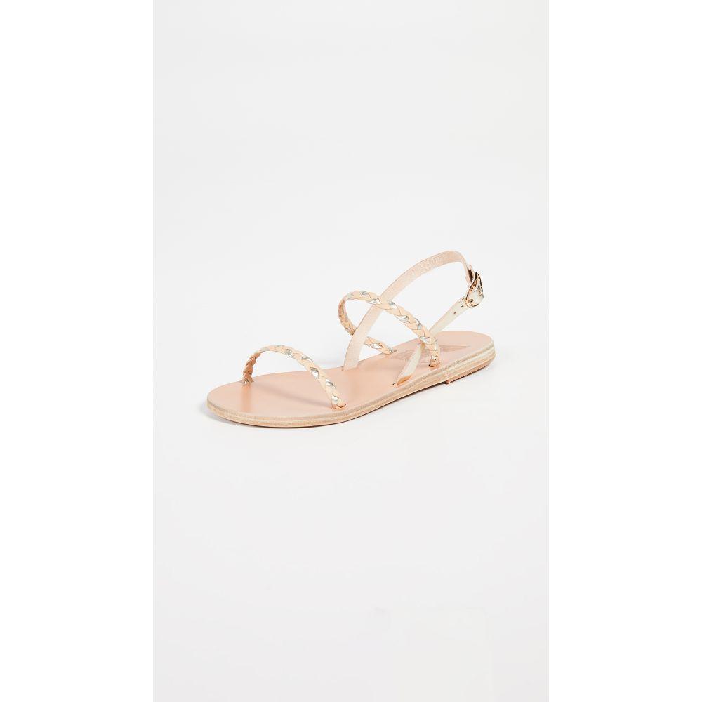 エンシェント グリーク サンダルズ Ancient Greek Sandals レディース シューズ・靴 サンダル・ミュール【Irida Braids Sandals】Natural/Platinum