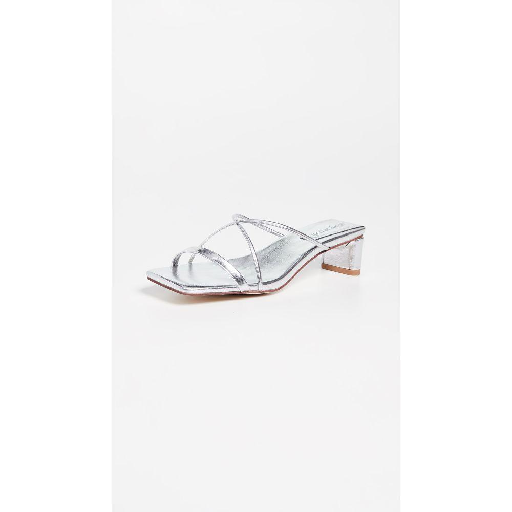 ジェフリー キャンベル Jeffrey Campbell レディース シューズ・靴 サンダル・ミュール【Mural Lo 2 Slides】Silver