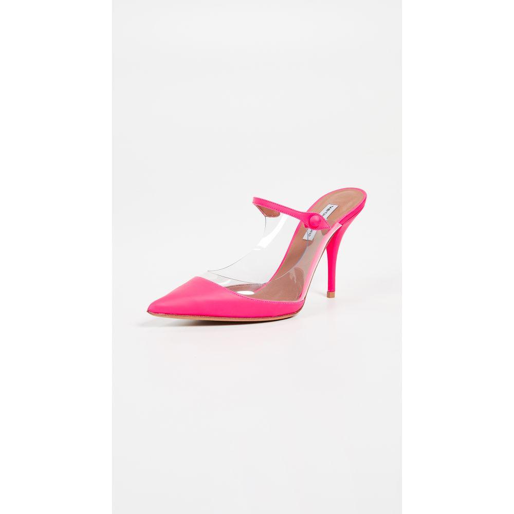 タビサ シモンズ Tabitha Simmons レディース シューズ・靴 サンダル・ミュール【Allie Mules】Pink/Clear