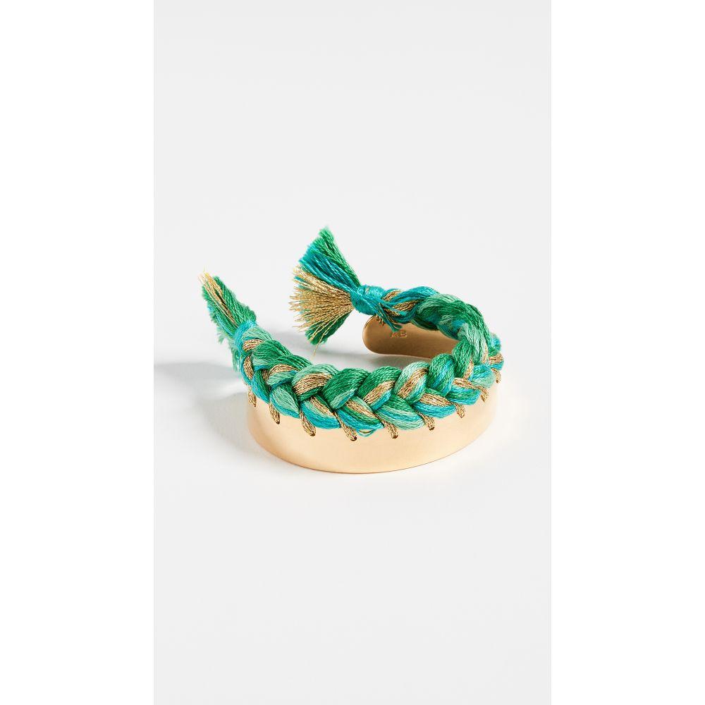 オーレリー ビダーマン Aurelie Bidermann レディース ジュエリー・アクセサリー ブレスレット【Copacabana Bracelet】Emerald