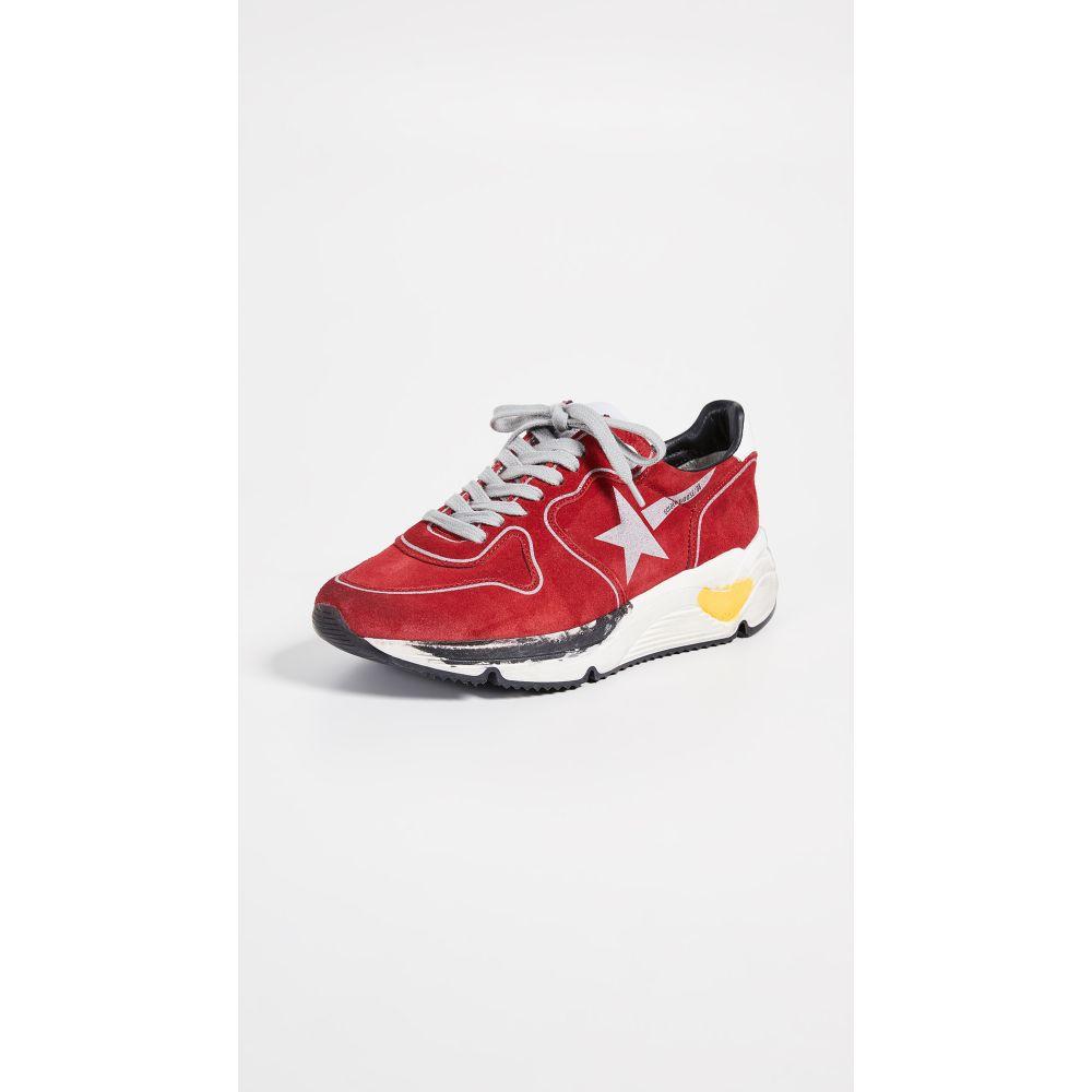 ゴールデン グース Golden Goose レディース ランニング・ウォーキング シューズ・靴【Running Sole Sneakers】Red/Silver