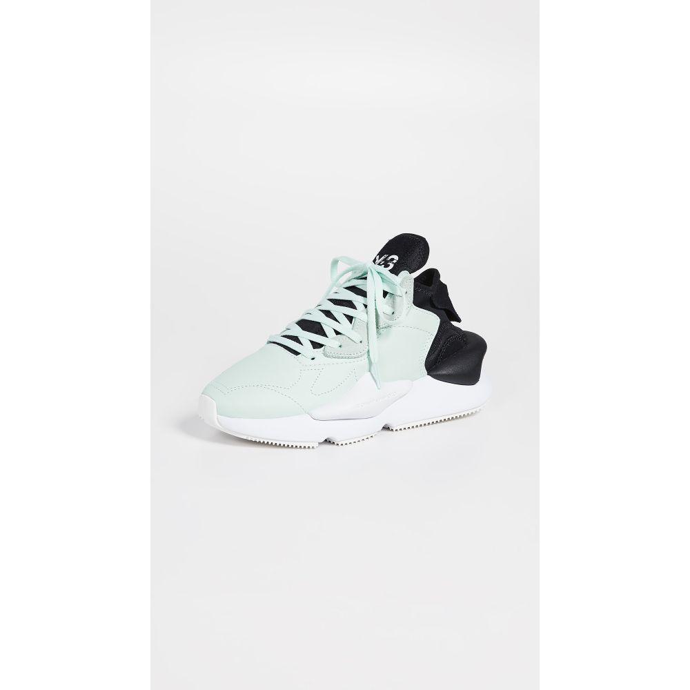ワイスリー Y-3 レディース シューズ・靴 スニーカー【Kaiwa Sneakers】Salty Green Y-3/Black/White