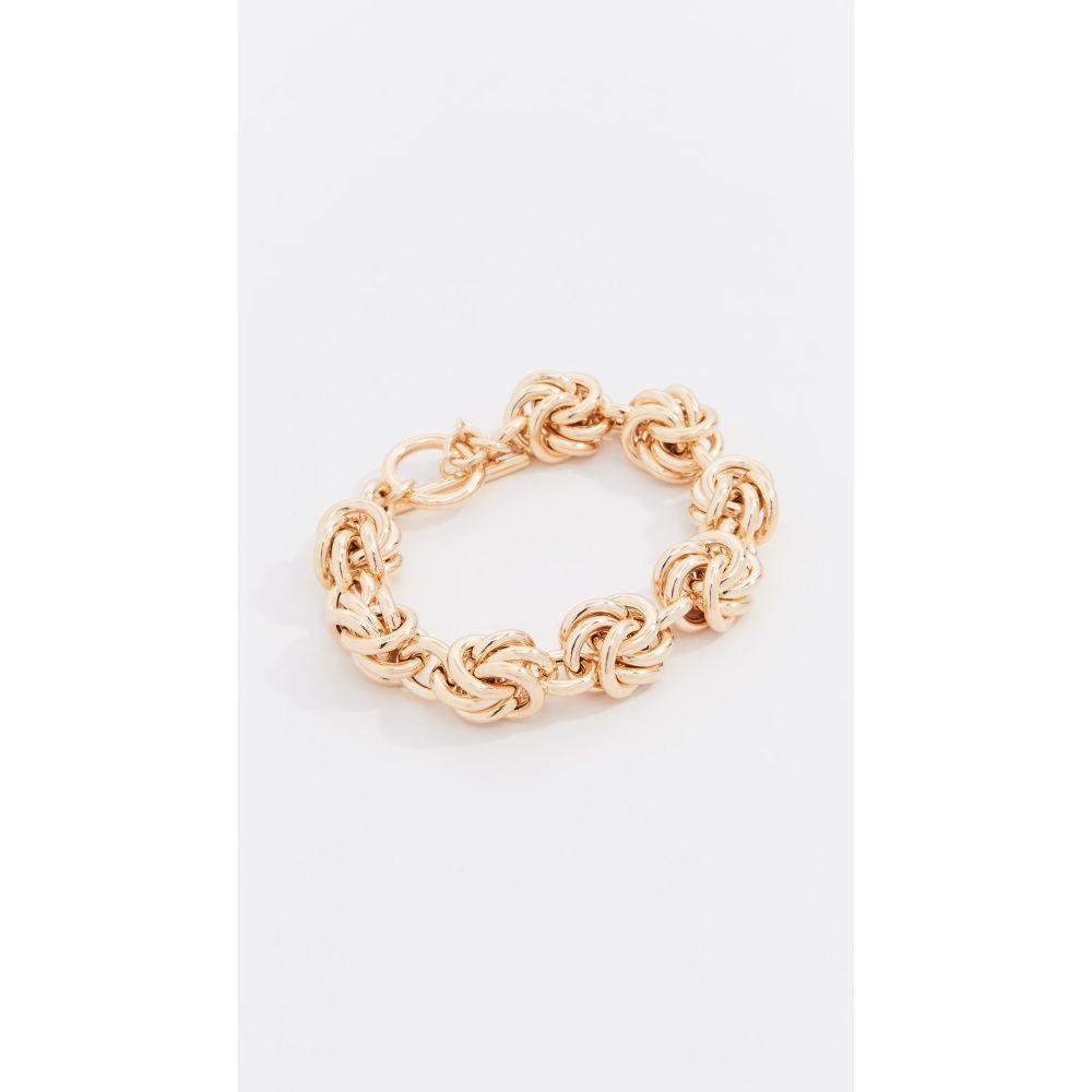 ブロンザール Bronzallure レディース ジュエリー・アクセサリー ブレスレット【Knot Bracelet】Gold