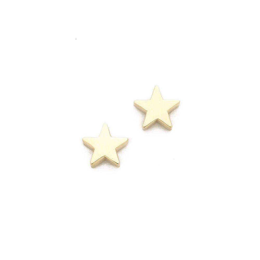 ジェニファーメイヤー Jennifer Meyer Jewelry レディース ジュエリー・アクセサリー イヤリング・ピアス【18k Gold Mini Star Stud Earrings】Gold