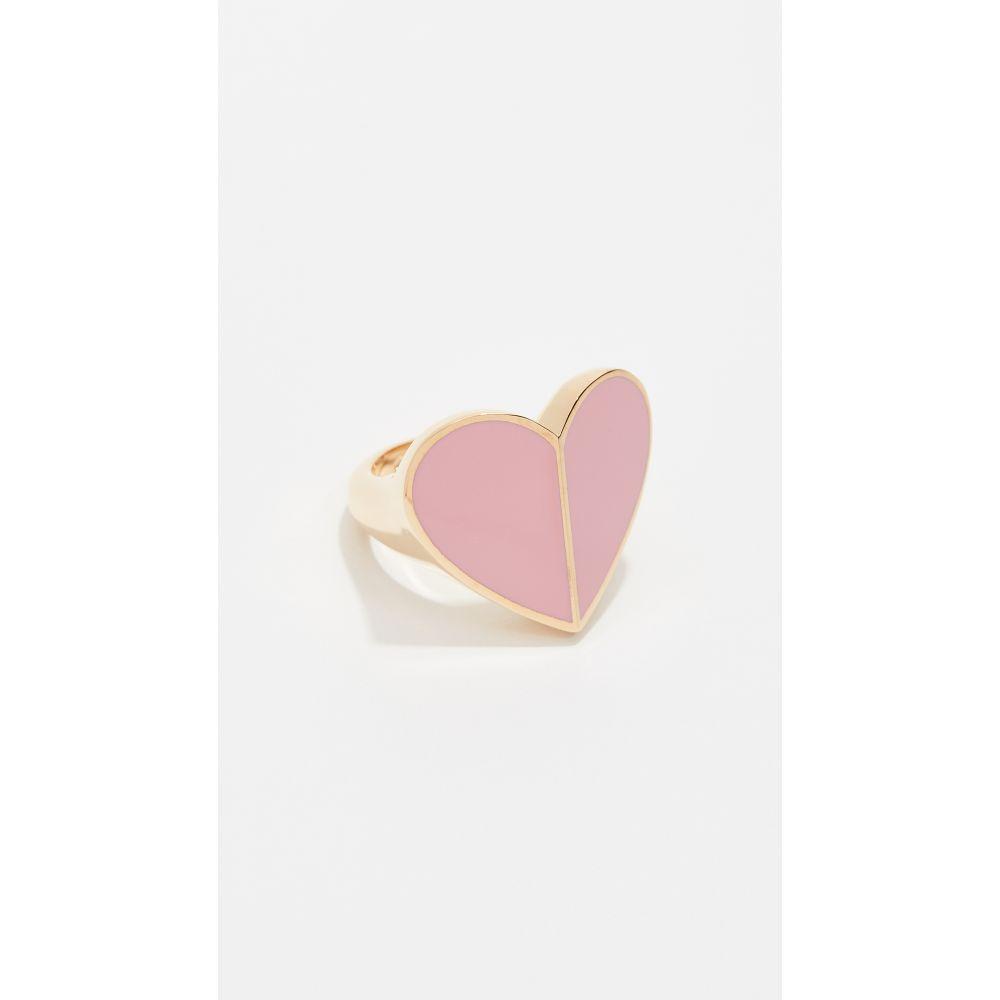 ケイト スペード Kate Spade New York レディース ジュエリー・アクセサリー 指輪・リング【Heritage Spade Heart Ring】Pink
