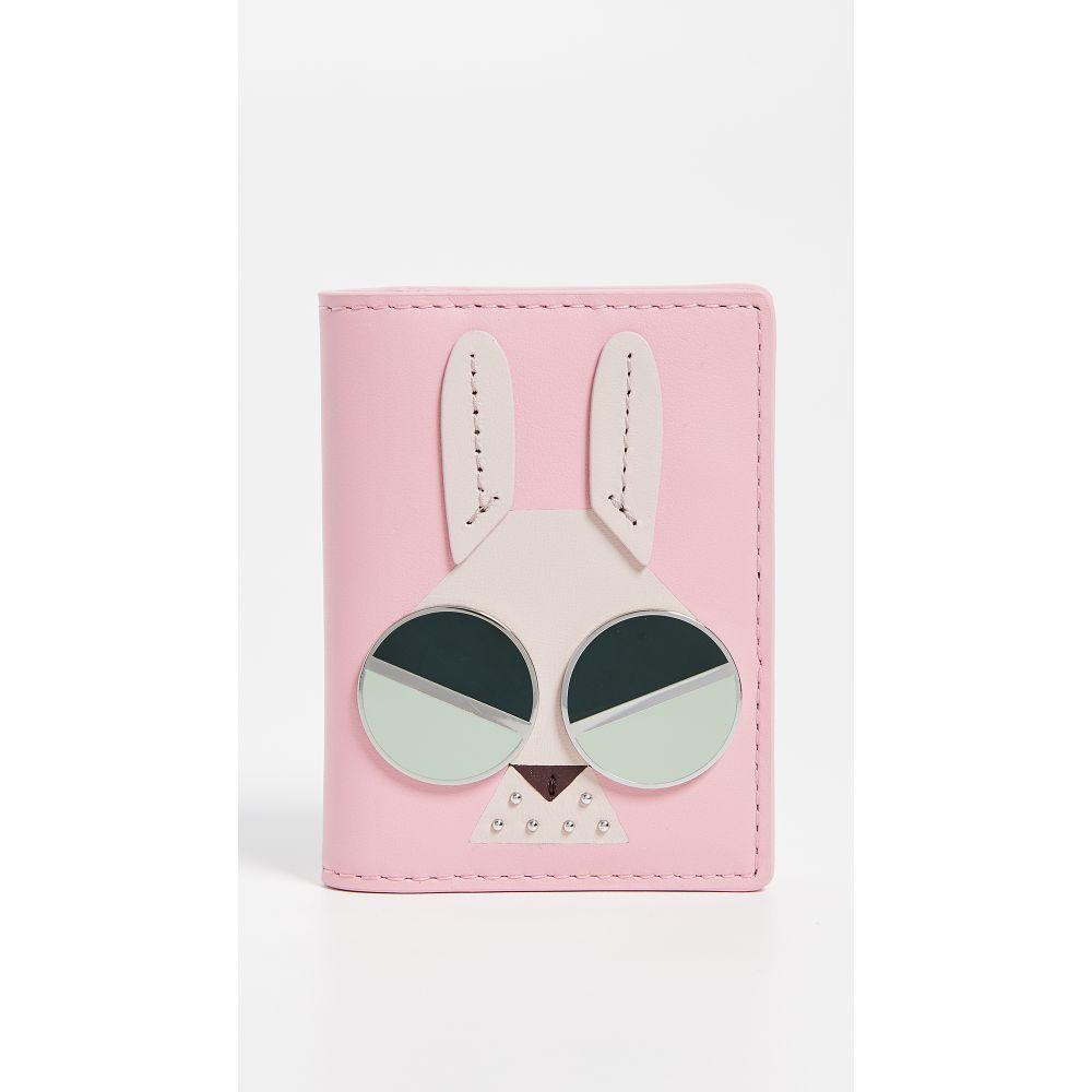 ケイト スペード Kate Spade New York レディース カードケース・名刺入れ【Spademals Money Bunny Bifold Card Case】Rococo Pink