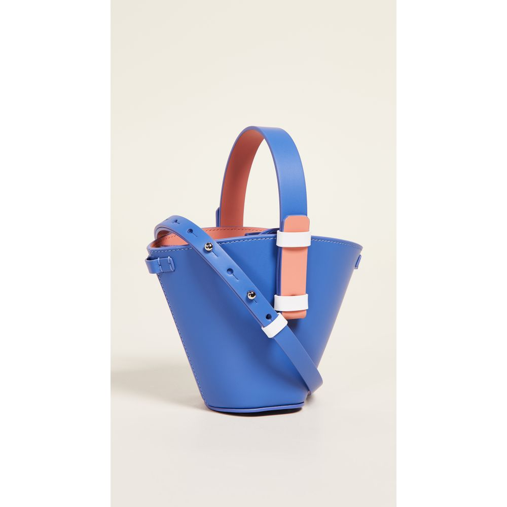 ニコ Giani Bucket ジャンニ Nico ニコ Giani レディース バッグ ハンドバッグ【Nelia Mini Bucket Bag】Denim/Salmon/White, Drink&Dream「D-Park」:555d3832 --- reinhekla.no