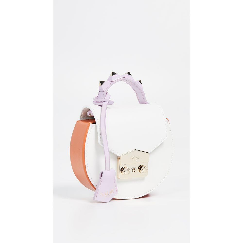 サラ Salar Salar レディース バッグ ハンドバッグ【Carol サラ バッグ Multi Bag】Milk/Tangerine/Lilac, 大型観葉植物と造花の専門店Gstyle:9cc517e9 --- reinhekla.no