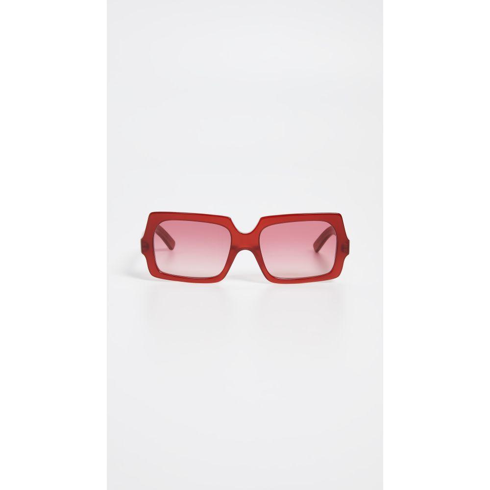 ストゥディオズ Studios アクネ Large レディース Acne Sunglasses】Burgundy/Burgundy メガネ・サングラス【George