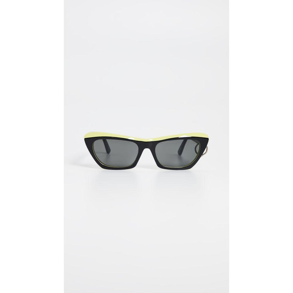 アクネ ストゥディオズ Acne Studios レディース メガネ・サングラス【Azalt Sunglasses】Black/Yellow