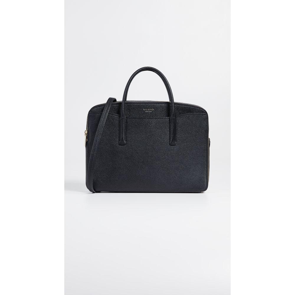ケイト スペード Kate Spade New York レディース バッグ パソコンバッグ【Margaux Double Zip Laptop Bag】Black
