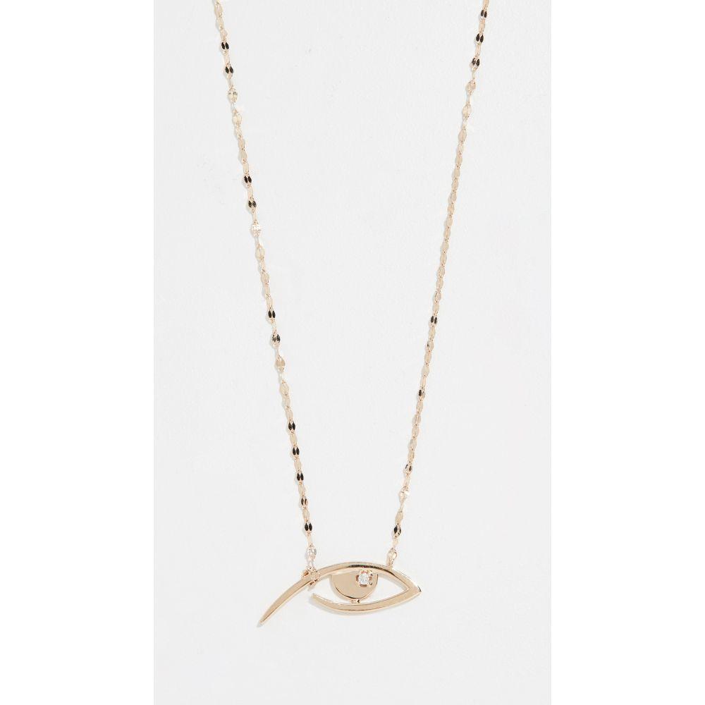 ラナ LANA JEWELRY レディース ジュエリー・アクセサリー ネックレス【Diamond Evil Eye Pendant Necklace】Yellow Gold