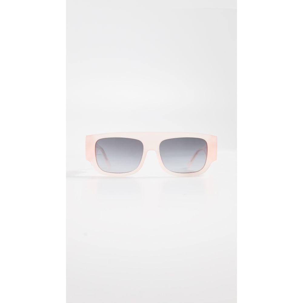ヌメロ ヴェントゥーノ No. 21 レディース メガネ・サングラス【Sporty Square Sunglasses】Light Pink/Grey
