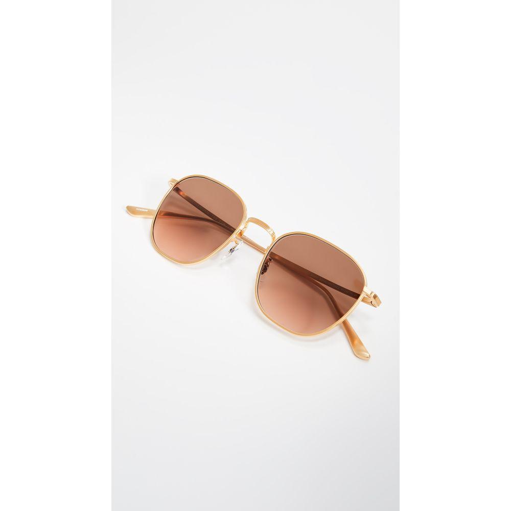 オリバーピープルズ Oliver Peoples The Row レディース メガネ・サングラス【Board Meeting 2 Sunglasses】Brushed Gold/Brown Gradient