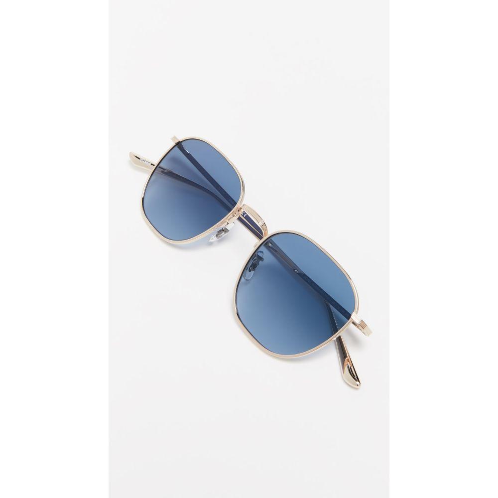 オリバーピープルズ Oliver Peoples The Row レディース メガネ・サングラス【Board Meeting 2 Sunglasses】Gold + Marine Gradient
