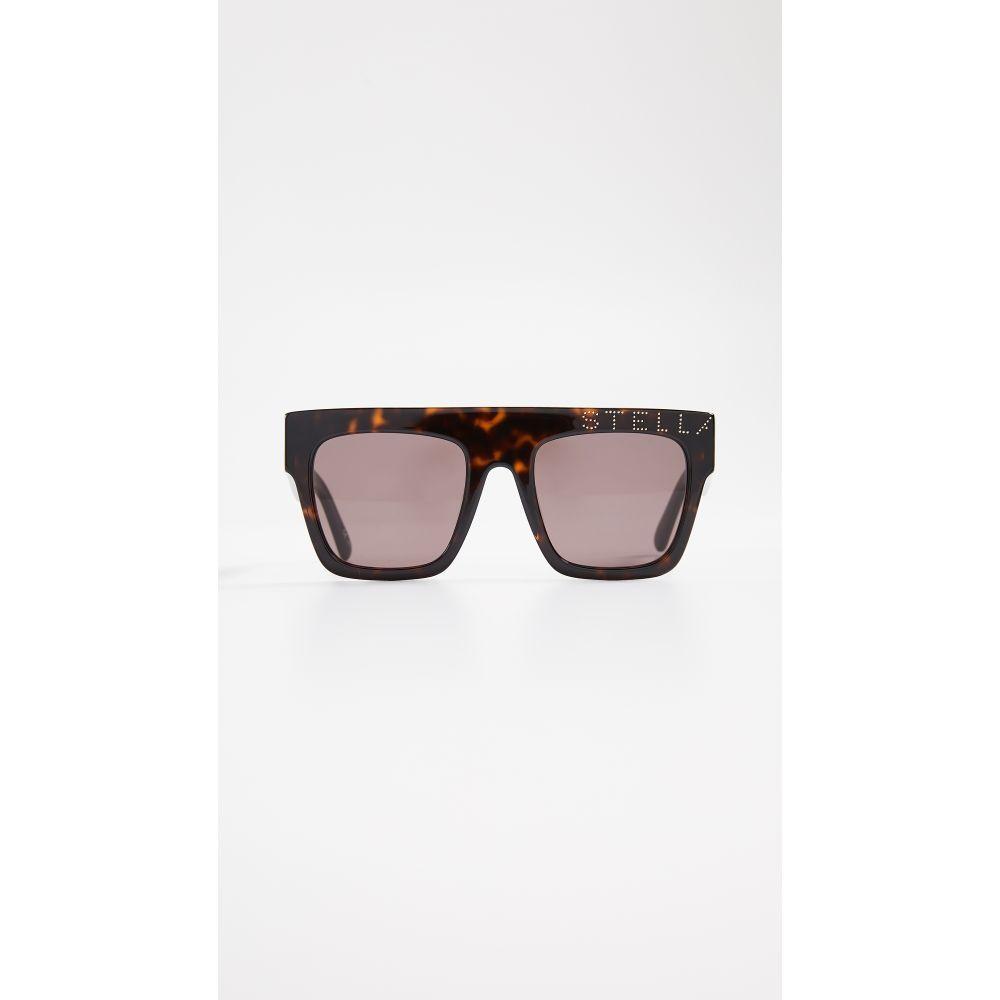 McCartney Top マッカートニー Stella Sunglasses】Havana ステラ レディース メガネ・サングラス【Moder Flat