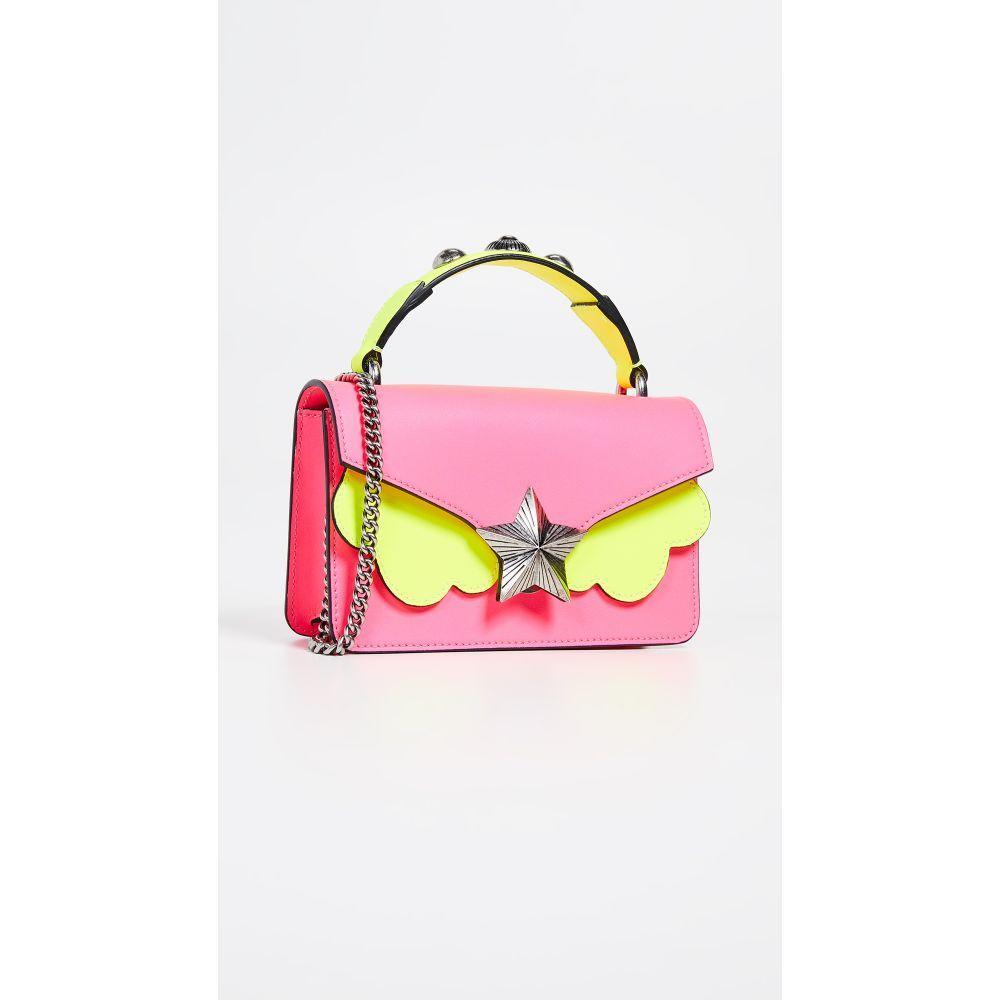 レ ジュンヌ Jeunes エトワール Les Jeunes ジュンヌ Etoiles レディース バッグ Les ハンドバッグ【Vega Mini Satchel Bag】Pink/Yellow Fluo, 牟岐町:2440272c --- sunward.msk.ru