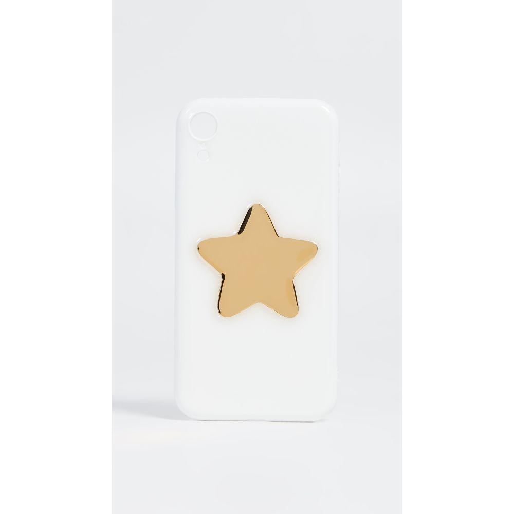 オフマイケース Off My Case レディース iPhoneケース【Star iPhone Case】White/Gold
