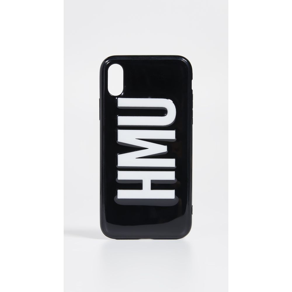 オフマイケース Off My Case レディース iPhoneケース【HMU iPhone Case】Black/White