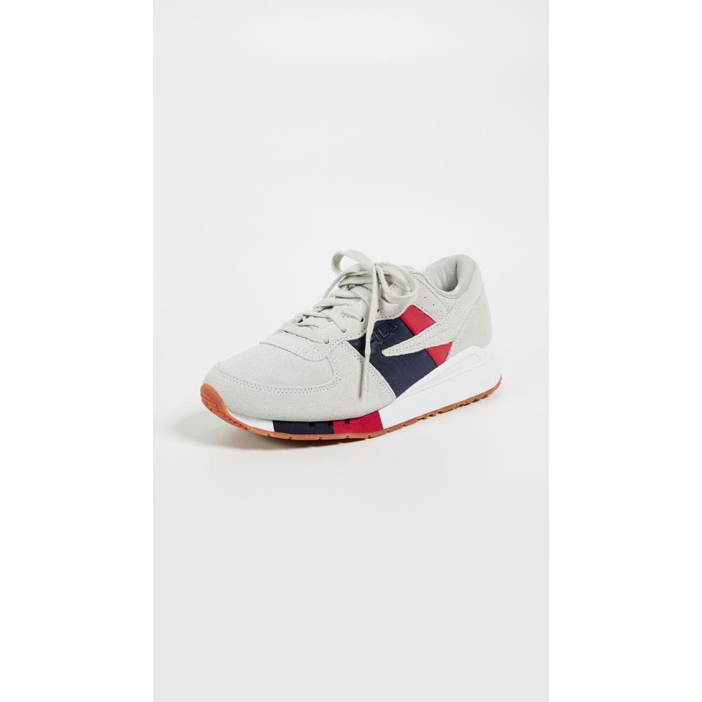 フィラ Fila レディース ランニング・ウォーキング シューズ・靴【Original Running Chaira Sneakers】White Multi