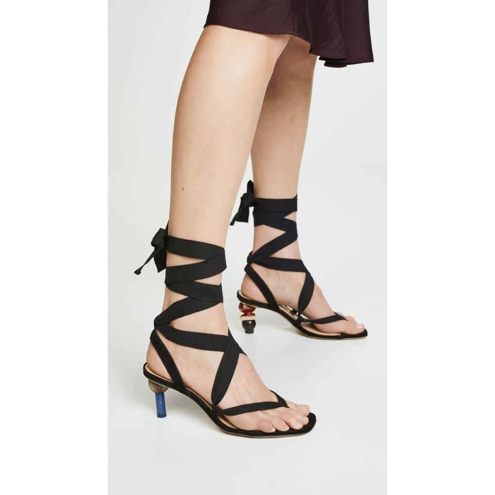 ジャックムス Jacquemus レディース シューズ・靴 サンダル・ミュール【Les Capri Sandals】Black