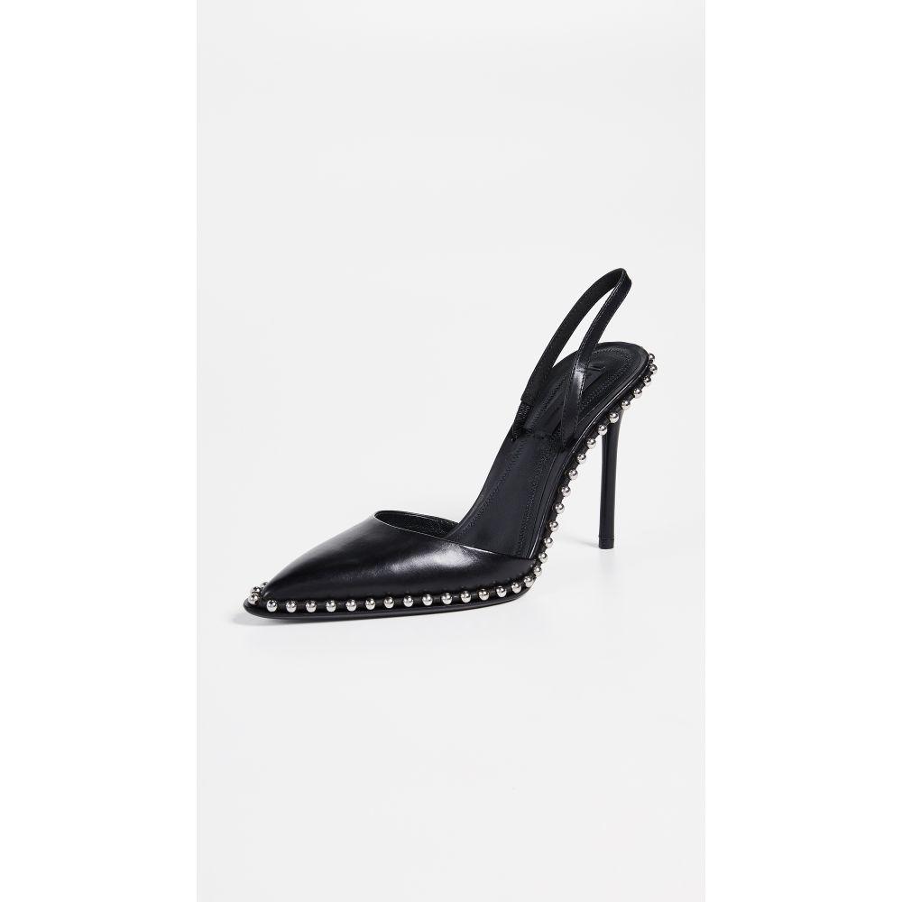 アレキサンダー ワン Alexander Wang レディース シューズ・靴 パンプス【Rina Slingback Heels】Black