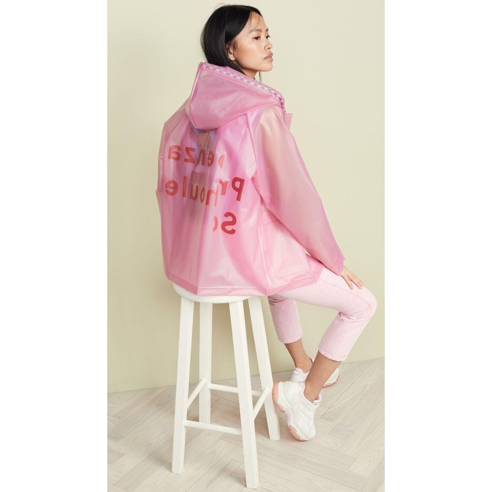 プロエンザ スクーラー Proenza Schouler PSWL レディース アウター レインコート【Printed Raincoat】Pink