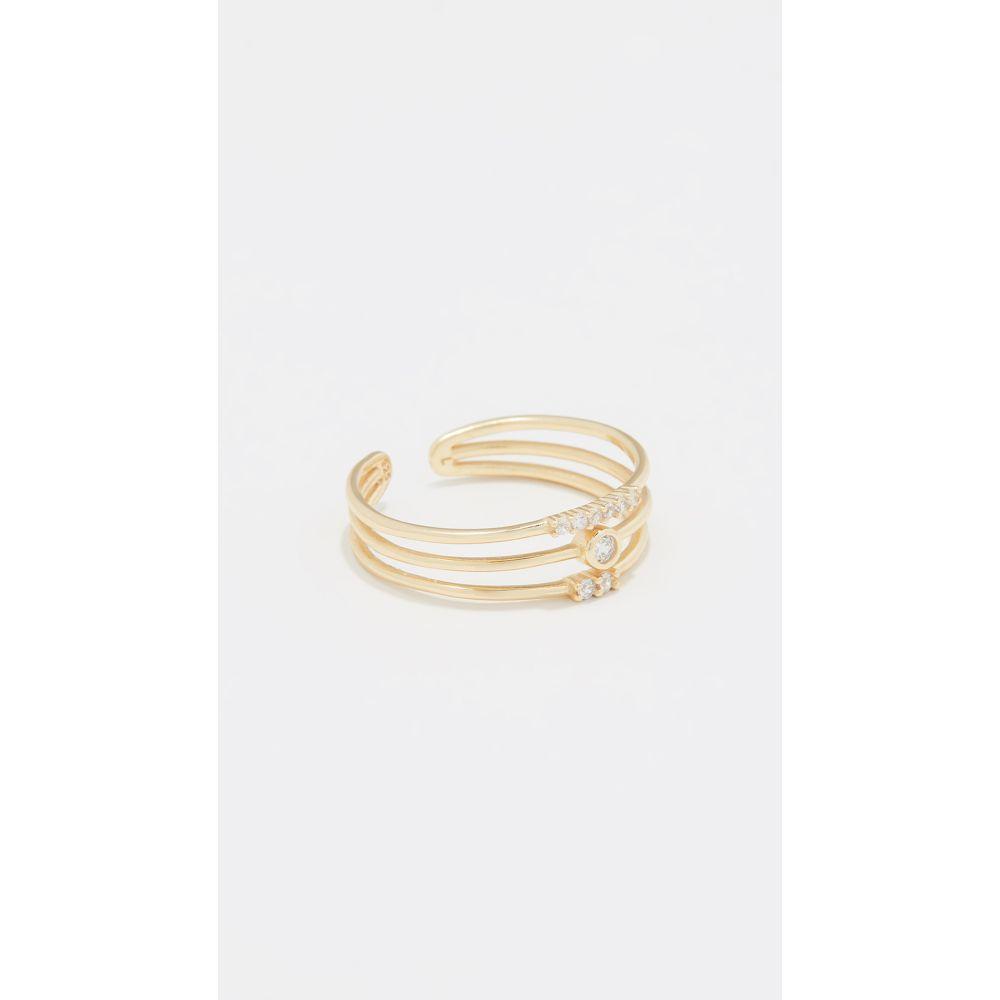 シャシ Shashi レディース ジュエリー・アクセサリー 指輪・リング【Trinity Ring】Gold