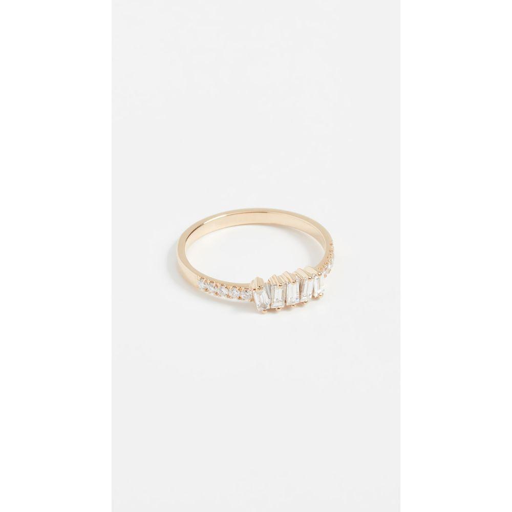 スザンヌカラン Suzanne Kalan レディース ジュエリー・アクセサリー 指輪・リング【18k Gold Diamonds Ring】Yellow Gold