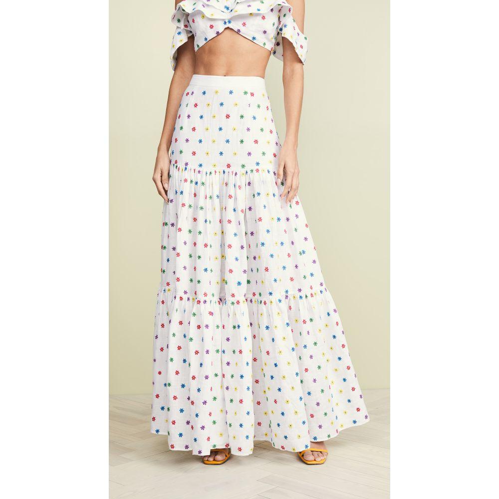 オールシングスモチ All Things Mochi レディース スカート【Camila Skirt】White